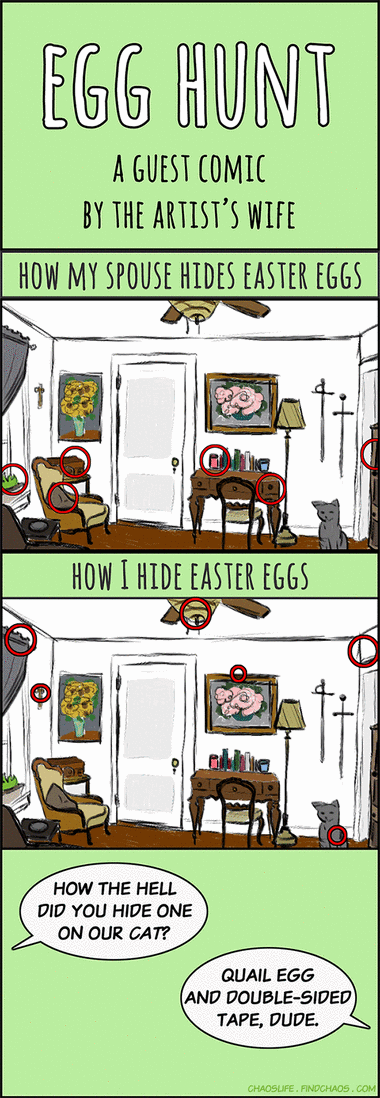 Guest Comic: Egg Hunt