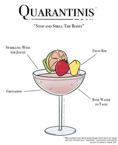 Quarantinis – Roses