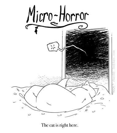 Micro Horror Cat