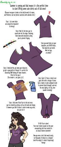 Shirt Shortcut