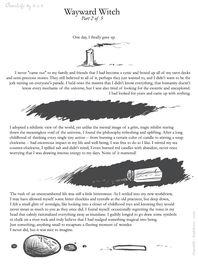 Wayward Witch Part 2