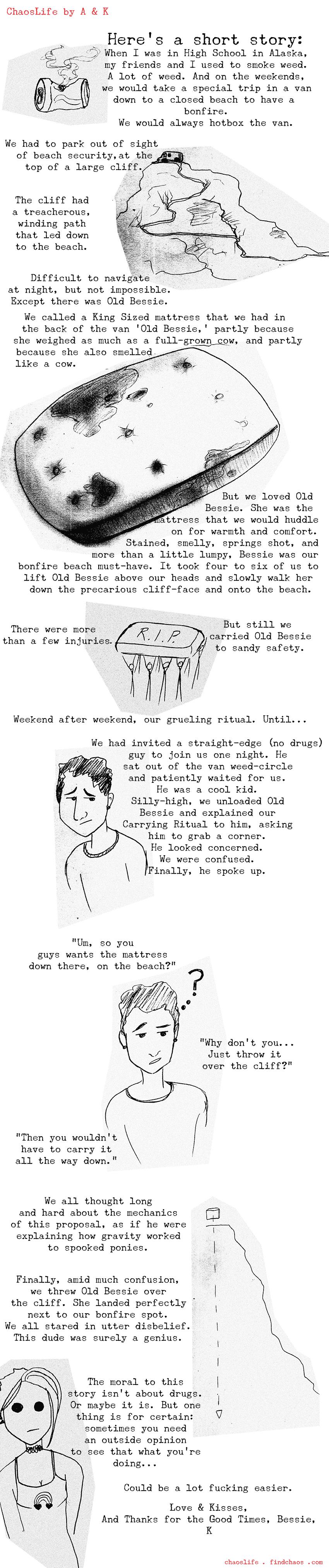 Mattress Moral