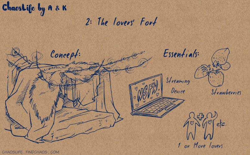 Blanket Forts: 2 – Lovers' Fort