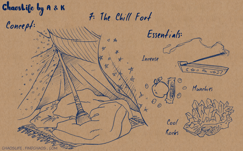 Blanket Forts: 7 – Chill Fort
