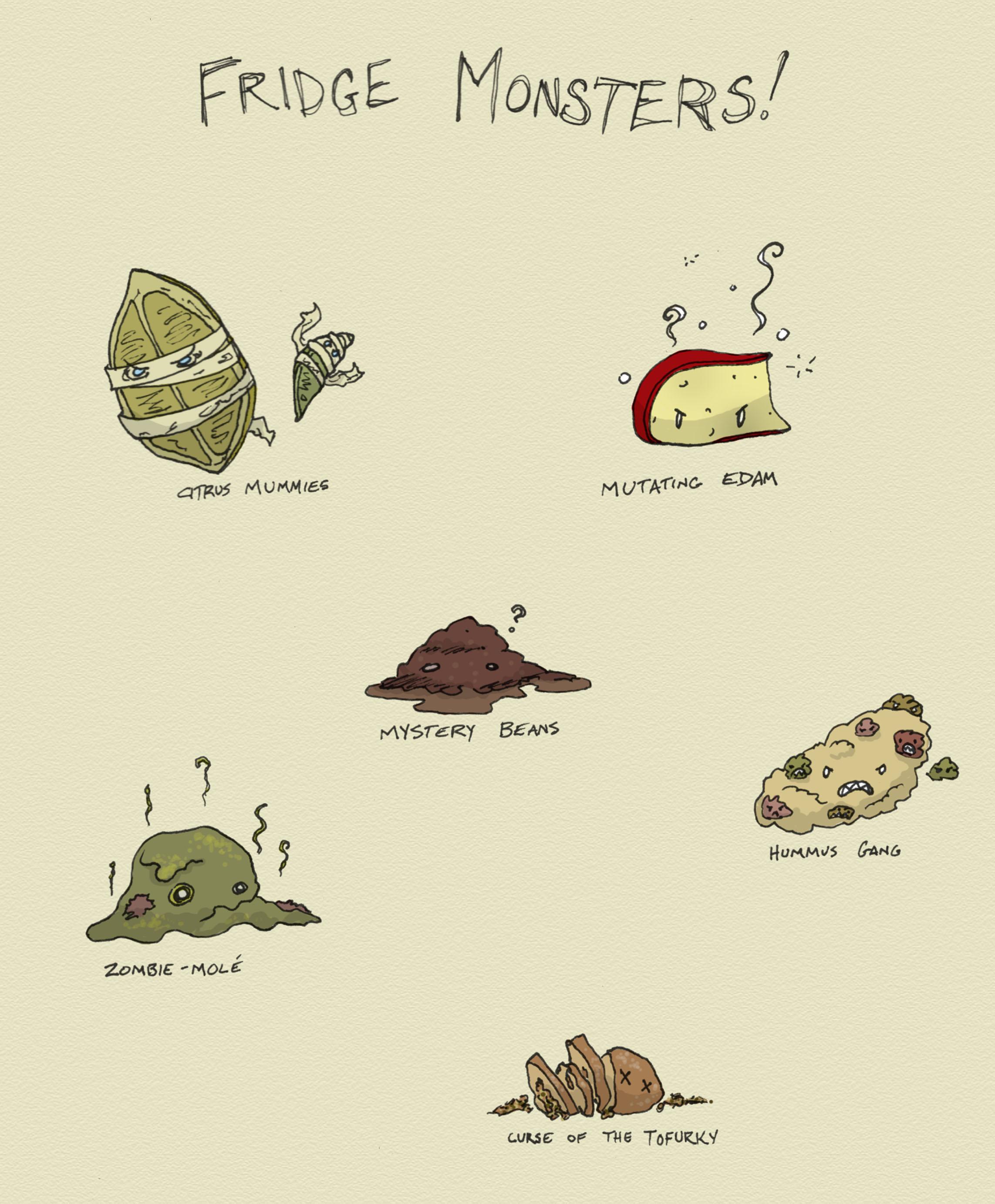 Fridge Monsters