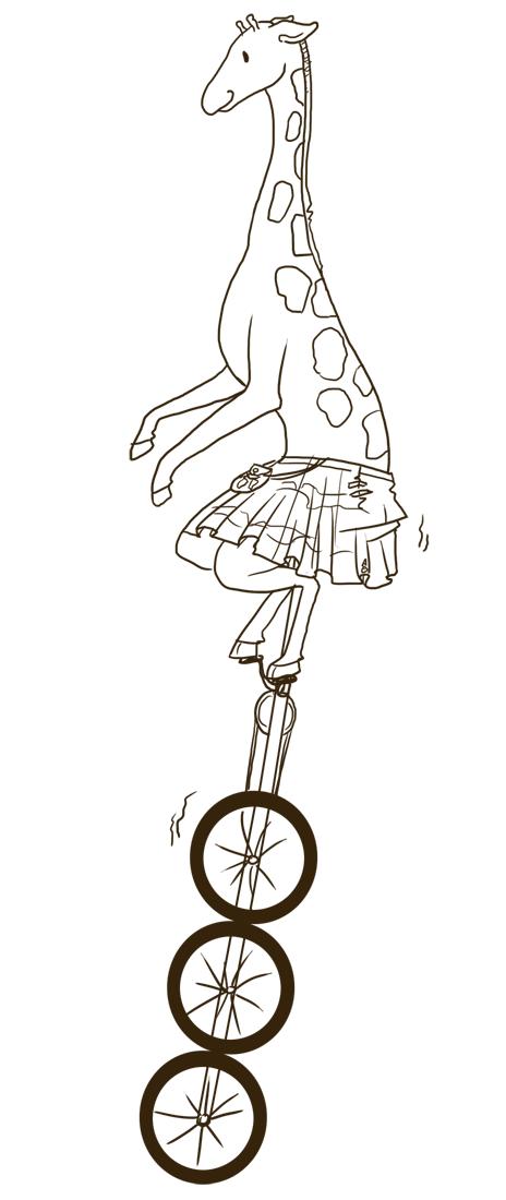Sketch Giraffe
