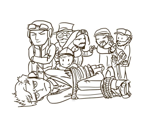 Sketch Time Bandits